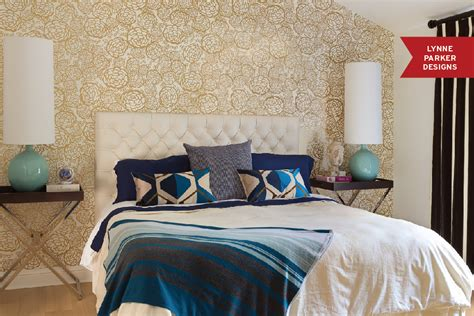 Make a Statement With Papered Walls in the Bedroom   HuffPost