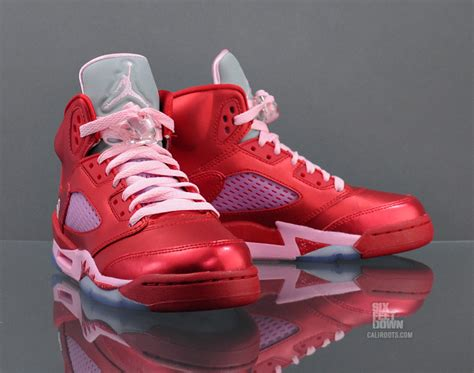 valentines day jordans air 5 retro gs quot s day quot available sole