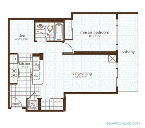 1 bed 1 bath condo floor plan student apartments elle condo 3525 kariya dr mississauga squareonelife