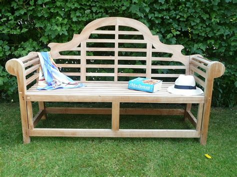 garden bench teak lutyens 3 seater teak garden bench humber imports