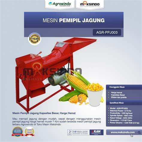 Harga Mesin Pemipil Jagung Mini jual mesin pemipil jagung ppj003 di bogor toko mesin