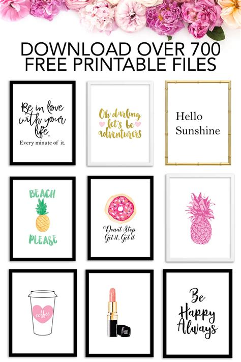 printables     printable files chicfetti