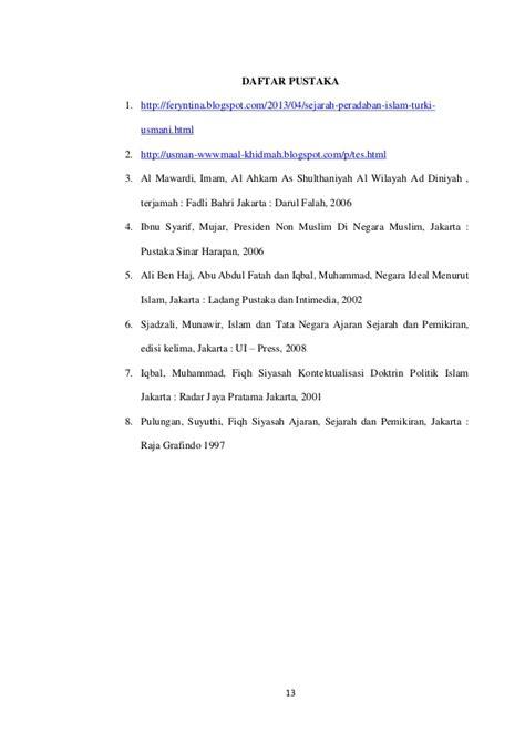 Tes Psikologi Sejarah Prinsip Jilid 2 Edisi 6 Robert J Gregory kerajaan turki usmani
