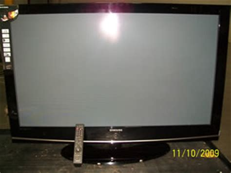 samsung 50 inch tv samsung 50 inch flat screen tv model hp t5054 it big government auctions