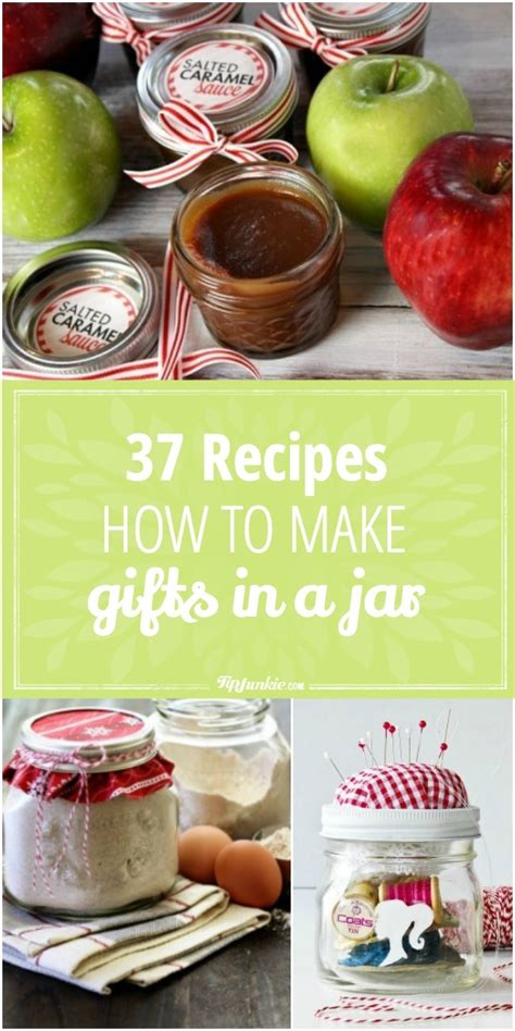 37 recipes how to make gifts in a jar tip junkie