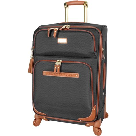 Steve Madden Luggage by New Steve Madden 28 Quot Large Softside Expandable Luggage With Spinner Wheels Ebay