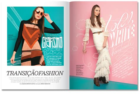 design magazine brazil womens health on behance