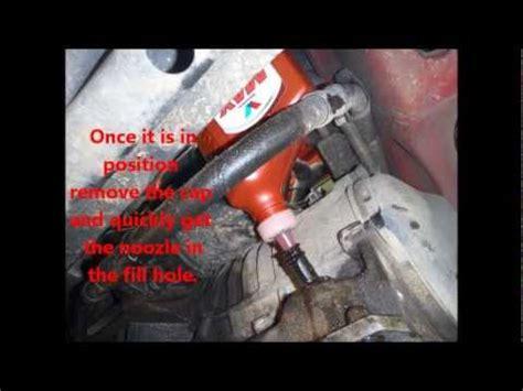 check  fill vw jetta transmission fluid aka  doovi