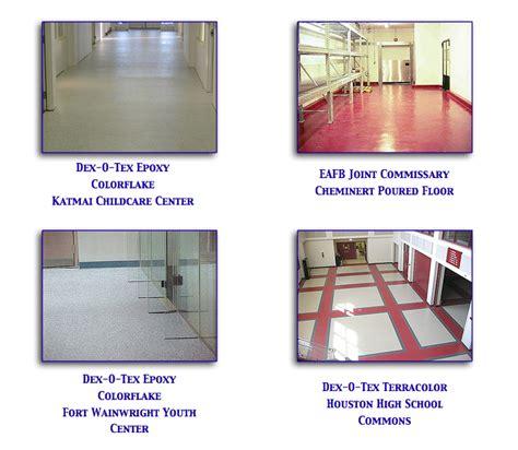 Dex O Tex and Epoxy Flooring