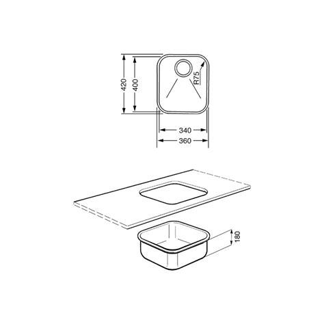 Evier Inox Encastrable Sous Plan by Smeg Um40 201 Vier Encastrable Sous Plan 1 Cuve Acier