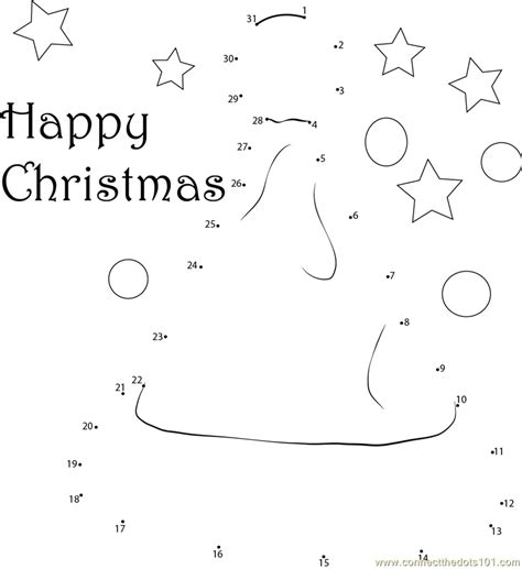 printable dot to dot holiday christmas hat dot to dot printable worksheet connect the