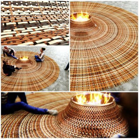 runder teppich mit runder teppich mit feuerstelle f 252 r gem 252 tliche zusammenk 252 nfte