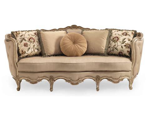 classic wooden sofa classic florence carved wood sofa indofurni