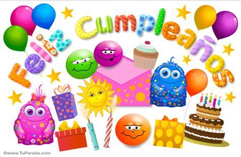 imagenes de cumpleaños gratis por whatsapp tarjeta de cumplea 241 os sorpresas cumplea 241 os tarjetas