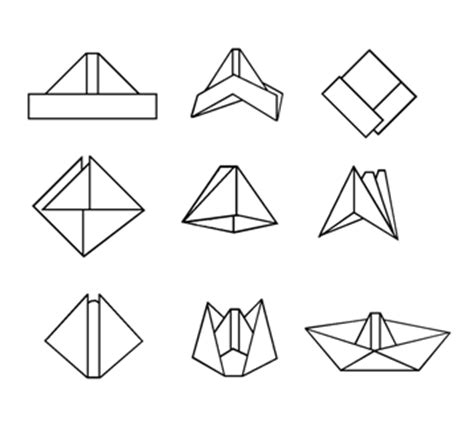 Fold A Paper Boat - creative activity for children a paper boat