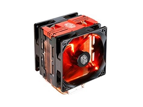 cooler master cpu fan cooler master hyper 212 red led turbo universal cpu cooler