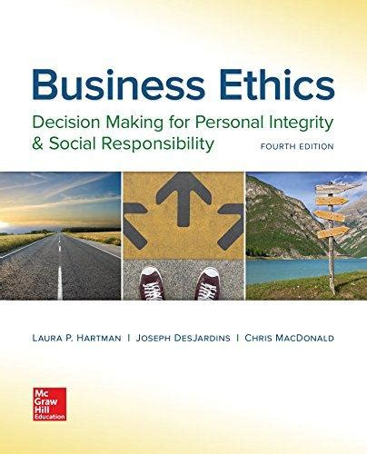 Business Ethics 3ed books by author p hartman direct textbook