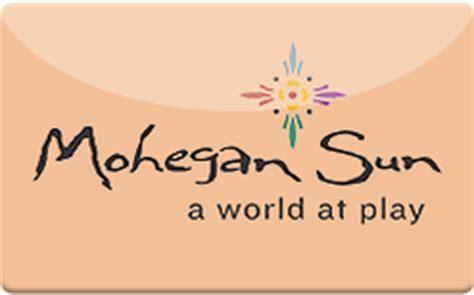 Mohegan Sun Gift Cards - buy mohegan sun gift cards raise