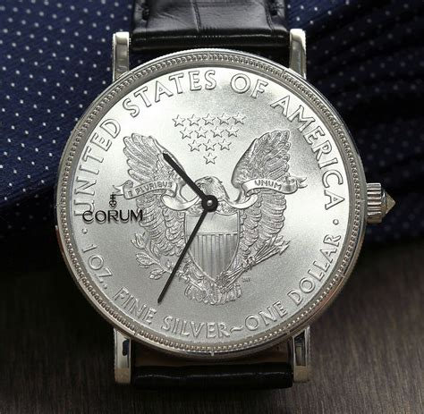 corum coin 50th anniversary edition ablogtowatch