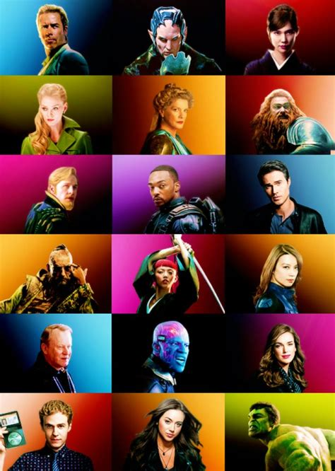 marvel film with all characters marvel cinematic universe characters marvel ous movies