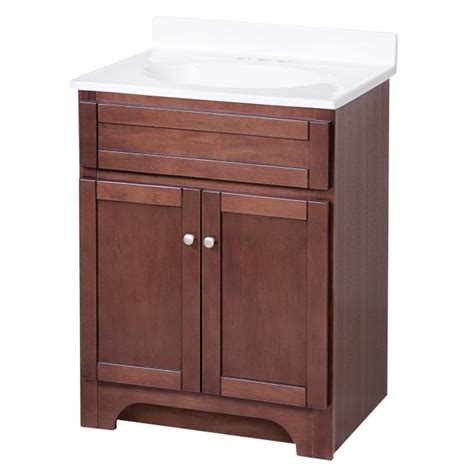Kitchen Cabinets Doors Online by Columbia Espresso 24in Vanity Combo With Top