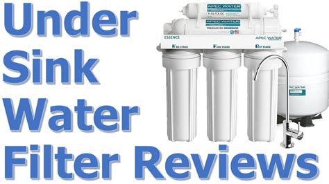 sink filter system reviews best sink water filter system reviews best