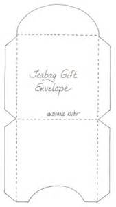 tea bag envelope template tea bag envelope pattern crafty ideas