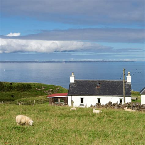 Seaview Cottage Mull by Duill Cottage Treshnish Cottages
