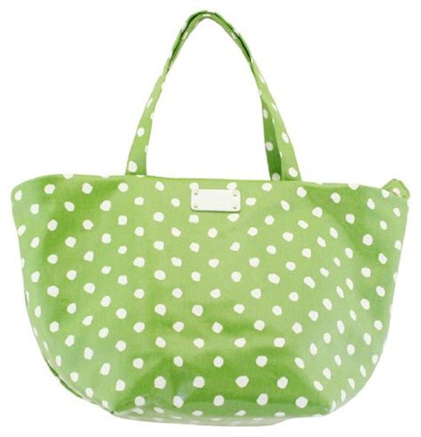 Kate Spade Prescott Small Anabel Tote by For Sale Kate Spade Anabel Dizzy Dot Vine Green Coated