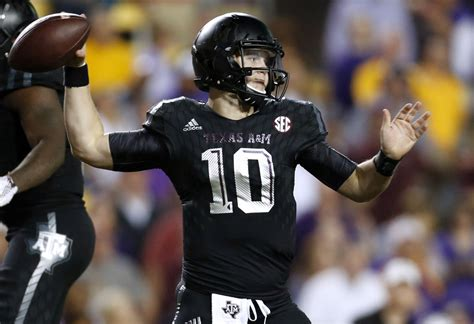 texas am kyle allen quarterback could cal land texas a m transfer kyle allen bears