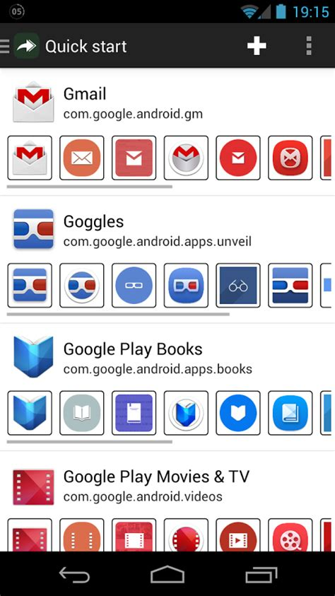 does own android awesome icons android apps auf play