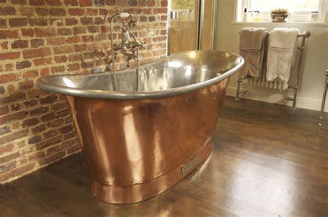 copper bathroom chadder copper bath with nickel fittings chadder co