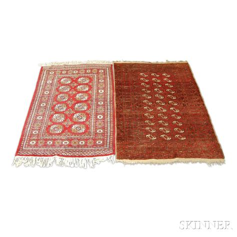turkoman rugs two turkoman rugs sale number 2924t lot number 1359 skinner auctioneers
