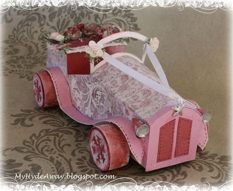 Wedding Car Models by My Craft And Garden Tales A Different Chabby Chic Vintage