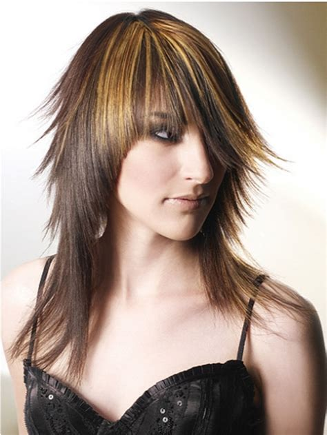 choppy layered with for hair long choppy hairstyles beautiful hairstyles