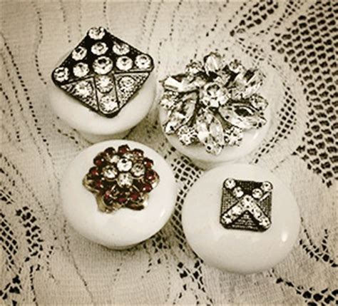 Jeweled Drawer Pulls by Want To Make Knobs Knobs You Can Make