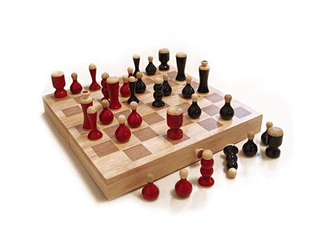 Handcrafted Chess Set - handcrafted wooden chess set organic channapatna
