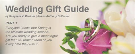 2006 Gift Guide Part 1 by Wedding Gift Guide Part 1 Anthony Collection