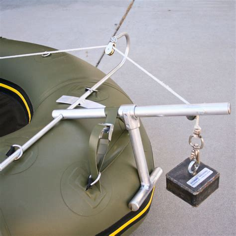 boat anchor release system fly fishing inflatable rafts boats water master