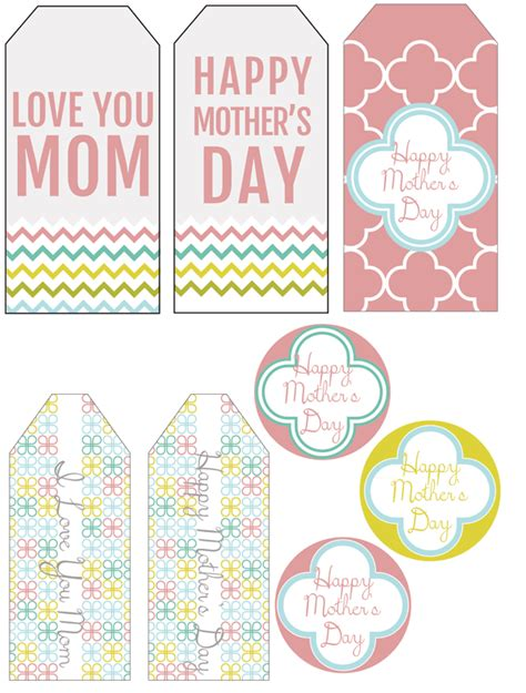 free printable gift certificates for mother s day freebie printable mother s day gift tags scrap booking