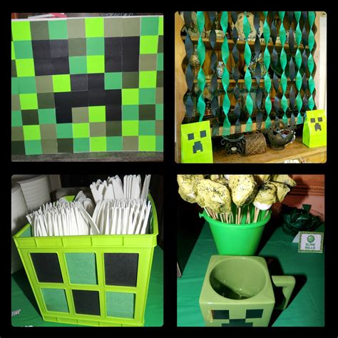 Minecraft Decoration Ideas by And Deals A Minecraft Birthday