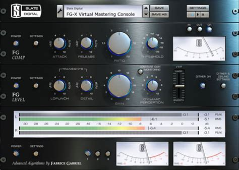 best mastering software slate digital fgx fgx mastering processor software