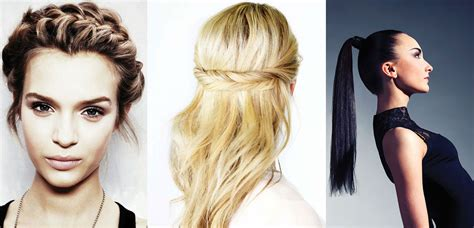 Best Hairstyles To Sleep In by 5 Easy Weekday Hairstyles Style Magazines