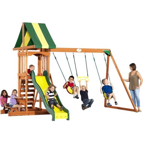 academy swing sets wooden playsets wooden swing sets wooden play houses