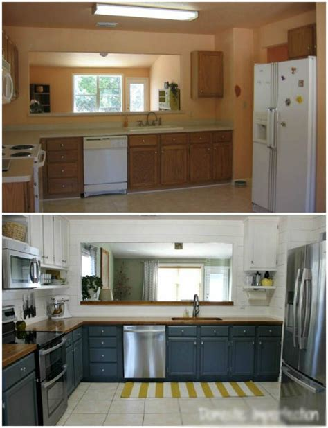 cheap kitchen remodel ideas before and after cheap kitchen remodel ideas before after 4 pictures