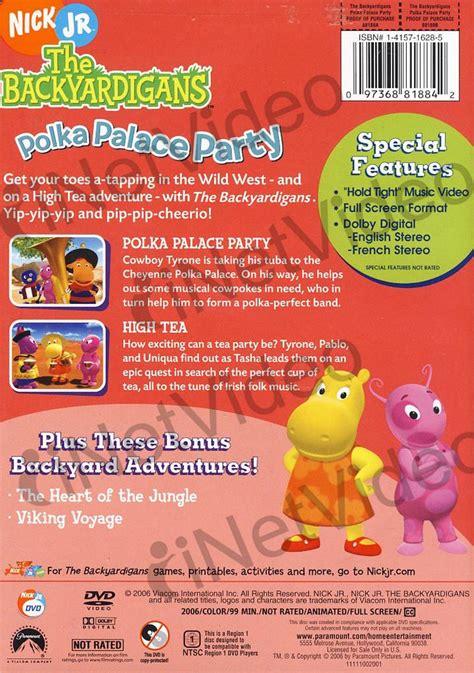 Backyardigans Polka Palace Dvd Backyardigans Polka Palace On Dvd