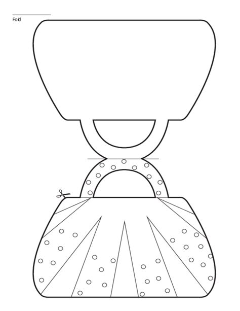 search results for printable handbag gift bag template