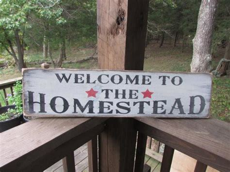hand painted wood signs home decor primitive rustic signs welcome signs primitive home