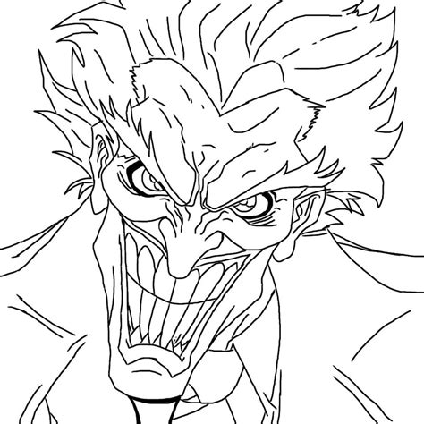 Drawing Outline by Joker Squad Coloring Pages Coloring Pages