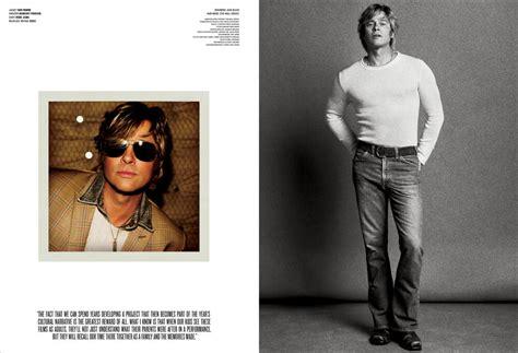 Brad Pitt V Magazine by 2015 Brad Pitt Inez Vinoodh